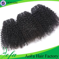 Factory price hot selling kinky curly micro loop hair extension
