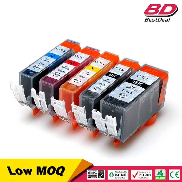 pgi-725 cli-726 ink cartridge for canon ix6560 ip4870 mx714
