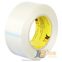 JLT-602A BOPP high strength mono-directional filament tape with high viscosity and longterm holding power