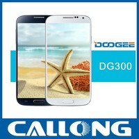 China mobile phone 5 inch dual core Android 4.2 dual sim 3G WCDMA handset smart phone Doogee DG300 telephone