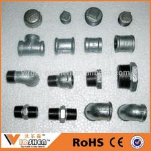 Galvanize steel pipe fittings chart