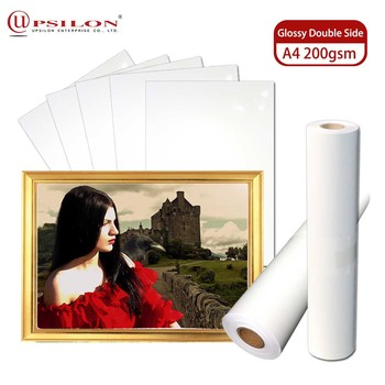Professional Use A4 Inkjet Double Side Glossy Photo Quality Paper