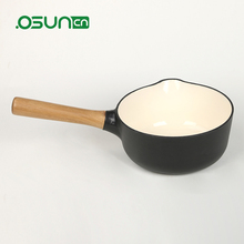 2017 Most popular saucepan sauce pan wooden handle sauce pan milk pan
