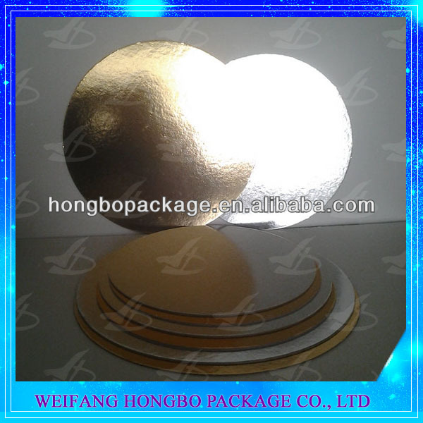 cardboard cake board circles 2mm thick