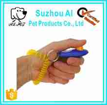Big Button Colorful Popular High Quality Dog Clicker with Wristband