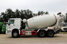 SINOTRUK 6X4 10 cubic meters concrete mixer truck for sale