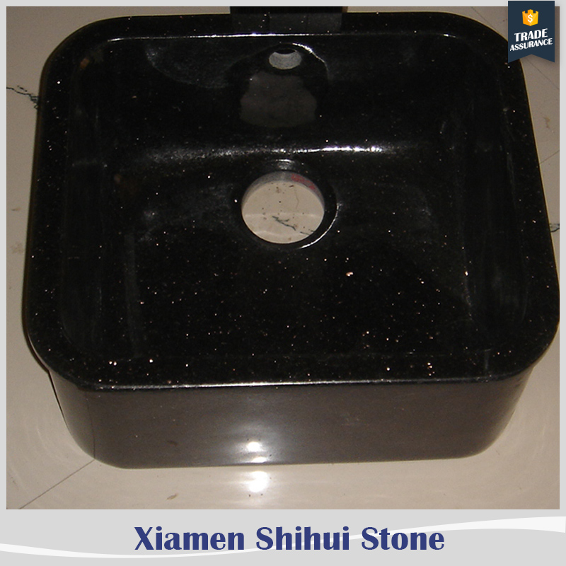 made in china black granite kitchen sink for countertop fabrication
