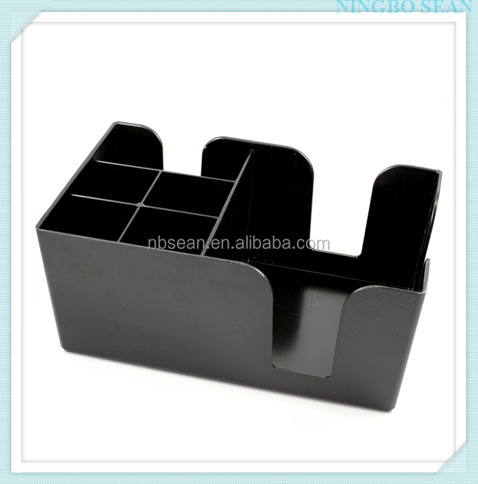 Custom design napkin straw stirrer holder made in China