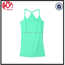 custom yoga promotional cheapest price ladies tank top