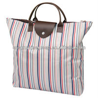 Fashionable folding custom-made leather bag handbags.