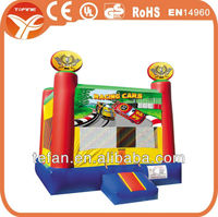 Racing Cars Outdoor Bounce Houses Inflatable