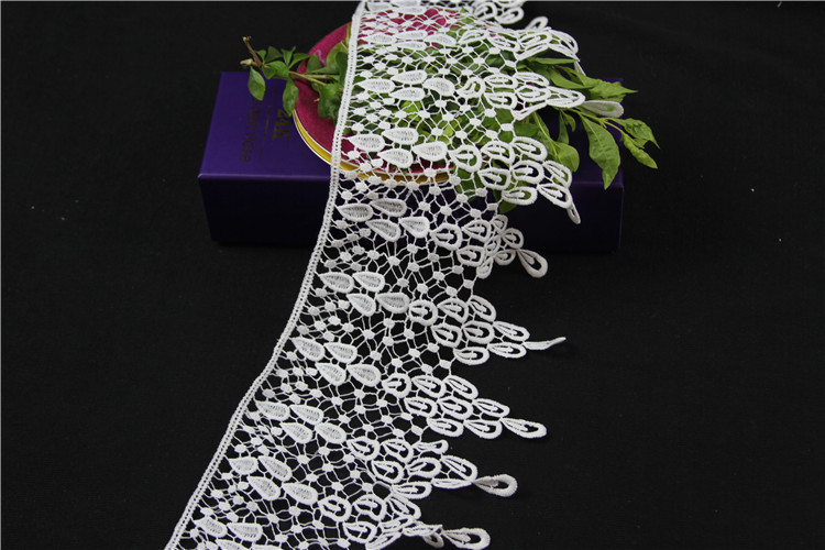 2016 fashion indian lace trim & trimming & lace trim for dress