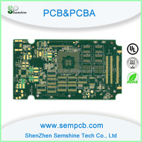 xbox 360 controller pcb boards with SMT and HASL service