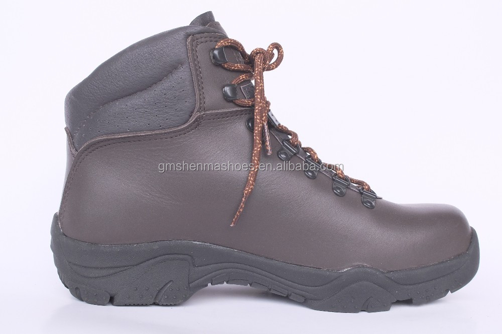 full grain leather leather outsole rubber SM209-1 man work shoes
