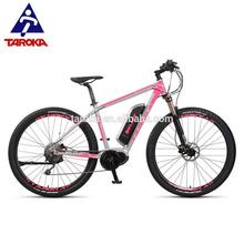shaft drive portable adult electric mountain bike by Taiwan supplier