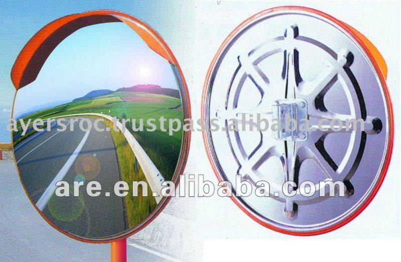 PC Stainless Steel Convex Mirror