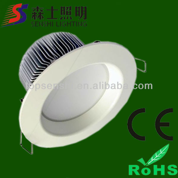 CE and ROHS approved LED Dwnlights Frost Lamp Face Mask LED Ceiling Lights 15w/18w