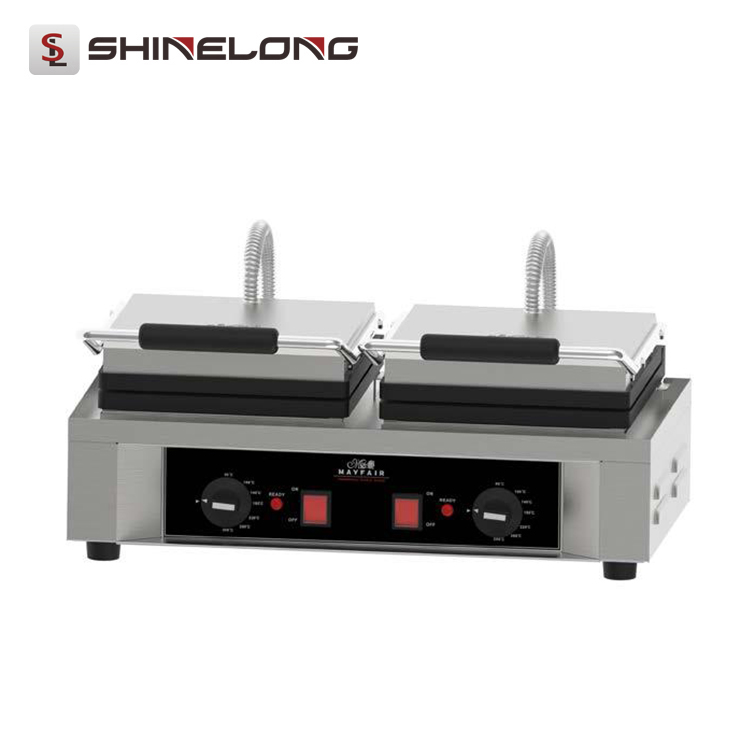 Industrial Double-head Egg Waffle Cone Maker Machine K947-2