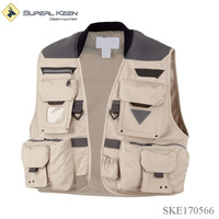 Multi functional Cooling Fly Fishing Vest for Men