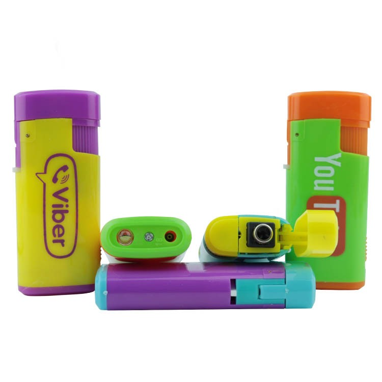 Novelty designed make your own electric spark petrol rechargeable lighter