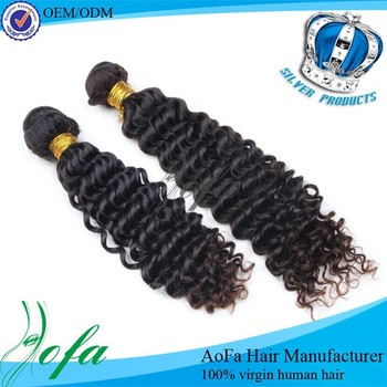10a human hair for braiding brazilian loose deep wave hair weave