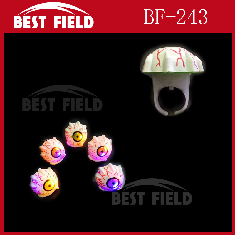 Halloween Eye fashion Led flashing ring