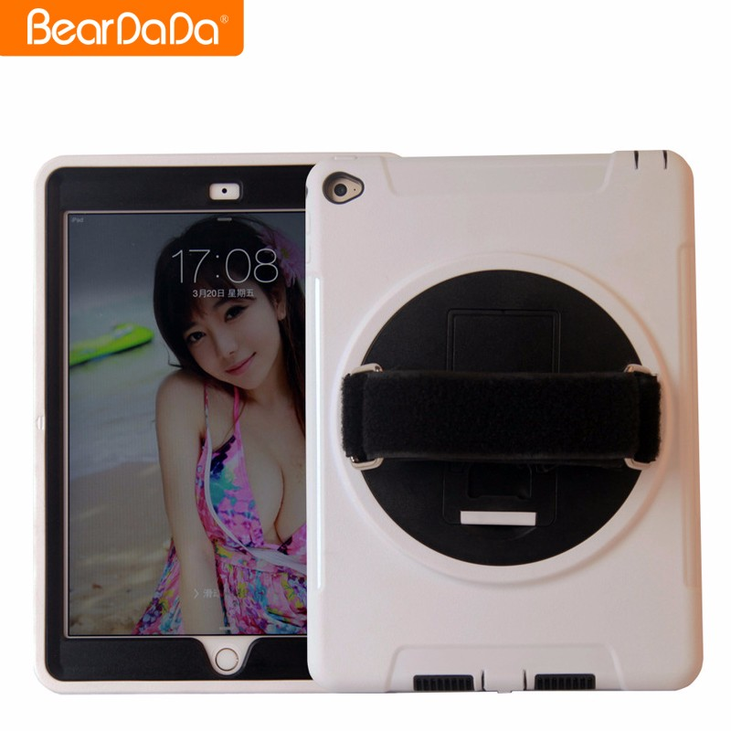 Unique Design 360 Degree Rotating hand strap for ipad air protective cases
