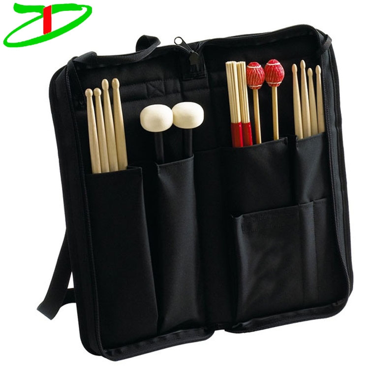 Percussion Professional Black Drum Stick Bag Wooden Drumstick Product On