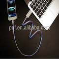Plastic Optical LED HDMI lighting cable, micro cable for audio system