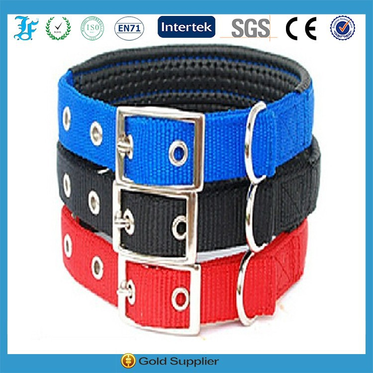 metal buckle colorful nylon puppy dog lead collar product