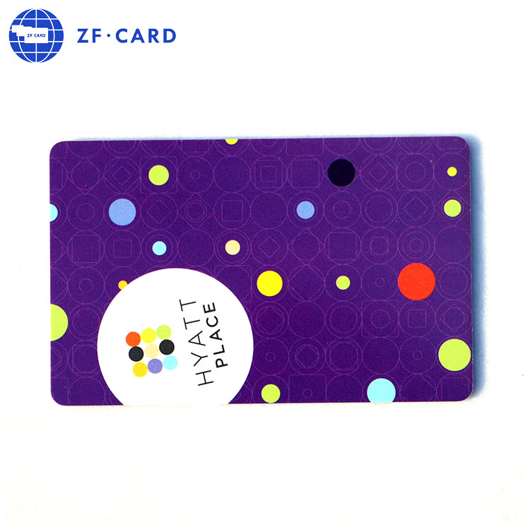 Low Price FM11RF08 Electronic Key Card For Hotels Systems