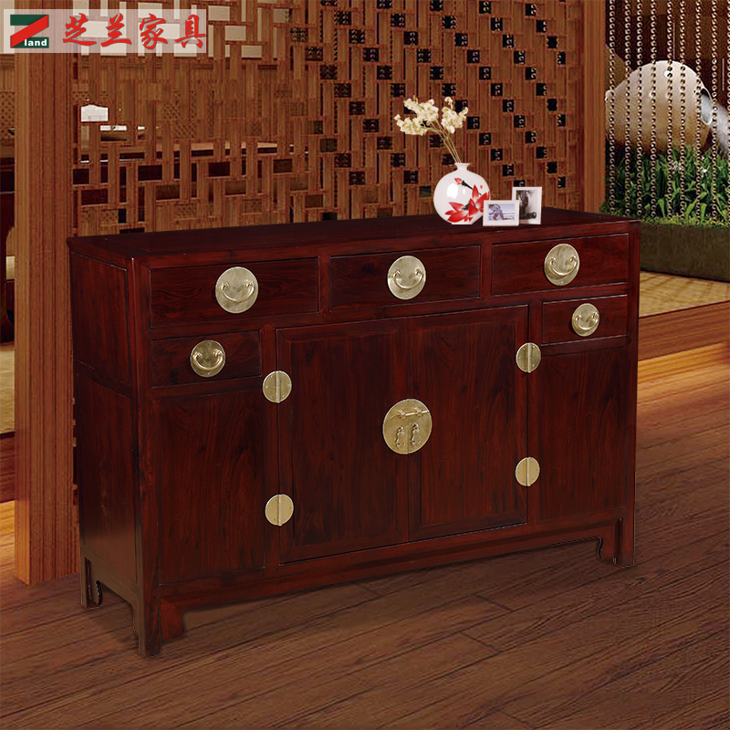 Chinese antique style tall entrance decorative wood carved filing cabinet multi function wooden cabinet solid wood cabinet