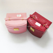 Nice fashion travel cosmetic box and wholesale hanging makeup cosmetic bag