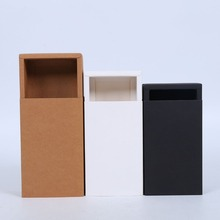 Kraft paper wholesale packaging tea gift box with Drawer box