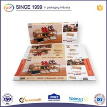 Wax Coated Packaging Corrugated Custom Cardboard Boxes with Logo