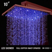 SS-ORB-002-1 Led High Pressure Shower Head