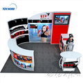 Detian Offer 3x4m Yoga trade show booth RFQ factory direct sale stand