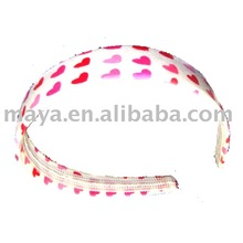 fashion plastic hair bands with teeth
