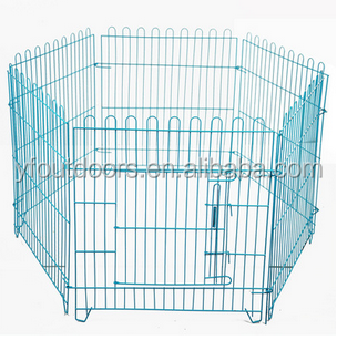 Good quality new style foldable dog cage for sale in supermarket