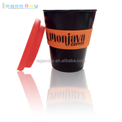 2015 food grade silicone rubber cup sleeve