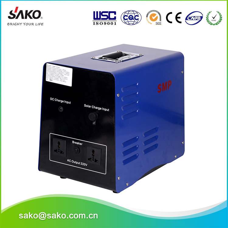 SMP 500W solar inverter with battery and solar panel