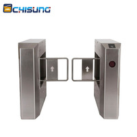 RFID card reader access control system swing barrier gate