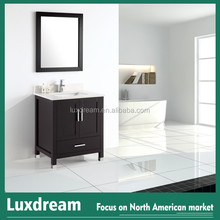 Hot Sale Bathroom Vanity with Back Splash