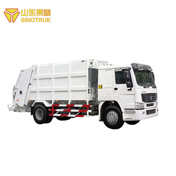 High quality supplier small garbage compactor truck for sale