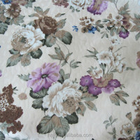 NEW 100% polyester fabric with TC back for sofa printed fabric