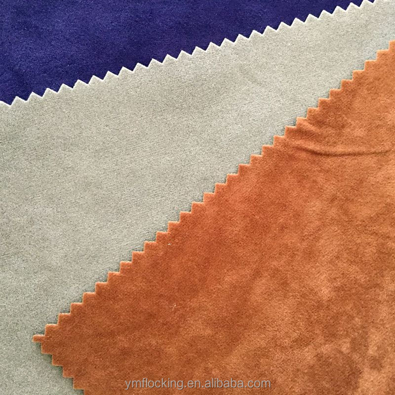 2016 New PatternHigh 120gsm Quality Flocking Fabric For Shoe Fabric