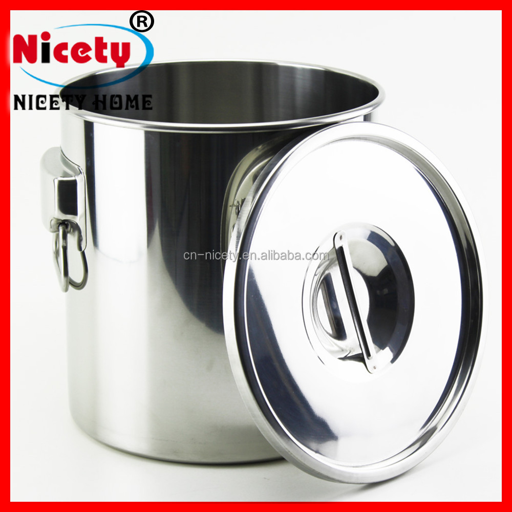 New Dairy Supplies Mini Stainless Steel Milk Can With Lid
