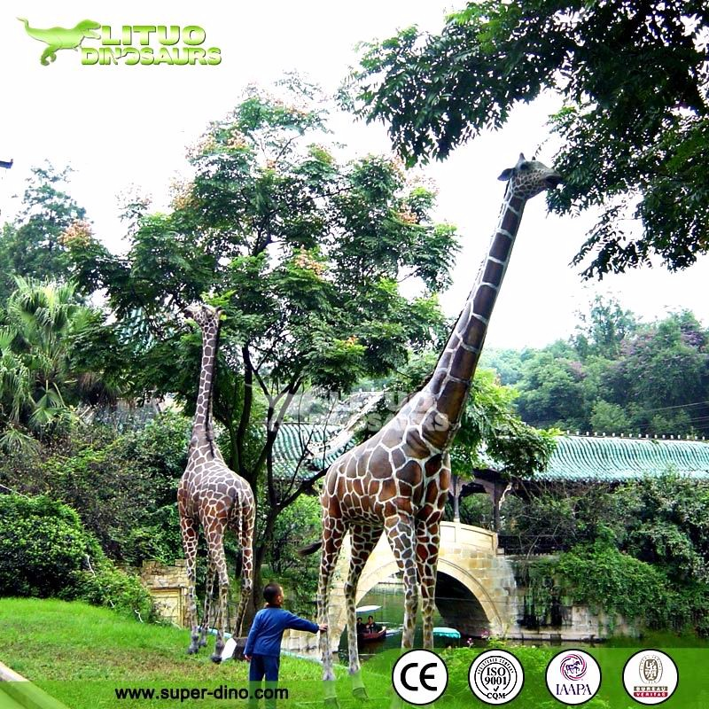 Outdoor life size custom larg rubber animals/trade assurance