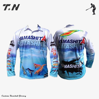 High quality sublimation custom polyester cheap fishing shirt