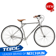 700C Lady vintage bicycle fashion antique bikes aluminum women road bike/city bicycle no chain bicycle
